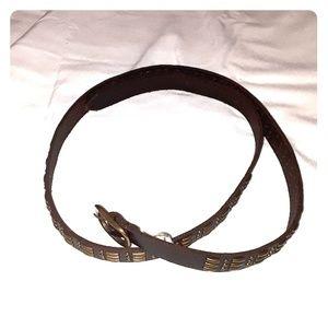 Tommy Bahama women's leather belt size medium NWT